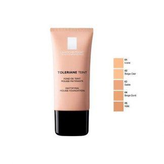 Toleriane Teint Fondo de Maquillaje Mousse Matificante.