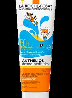 Anthelios Dermo Pediatrics 50+ Gel loción piel húmeda. 300ml