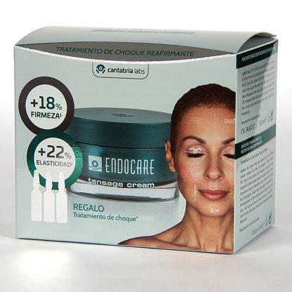 Endocare Tensage Crema, 50ml+ Tratamiento de choque reafirmante gratis