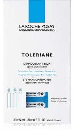 Toleriane desmaquillante de ojos. 30x 5ml