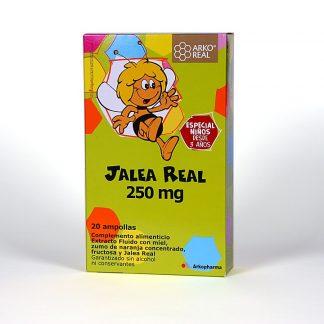 Arko Jalea Real 250mg. Niños. 20amp