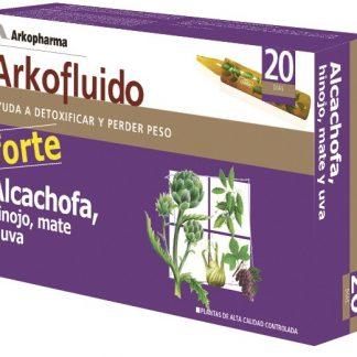 Arkofluido Alcachofa, Hinojo, mate y uva. 20amp