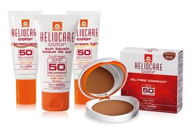 Heliocare Compacto color Light.SPF 50