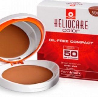 Heliocare Compacto Color Brown Oil Free SPF 50