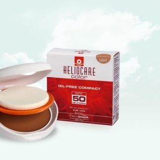 Heliocare Compacto Color Light Oil Free SPF 50