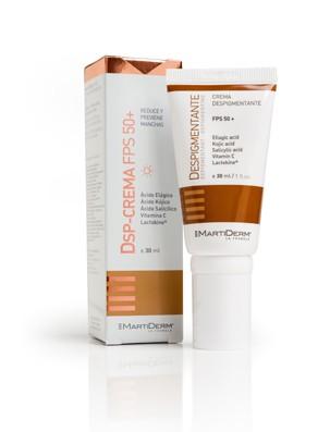 Martiderm DSP-Crema Despigmentante.FPS 50+.ml