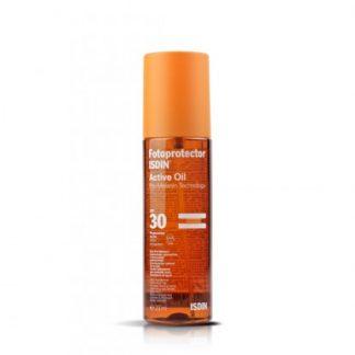 Fotoprotector ISDIN Active Oil. SPF 30.200ml