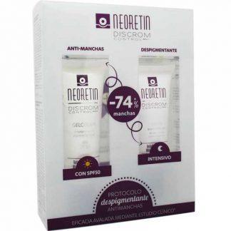 Pack Neoretin Despigmentante, Serum + Gel Crema. 25% DESCUENTO