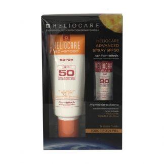 Heliocare spray 50. 200ml + Heliocare gel 90 ,25ml GRATIS